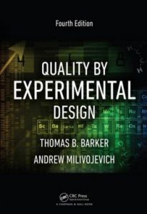 Quality by Experimental Design 4th Edition