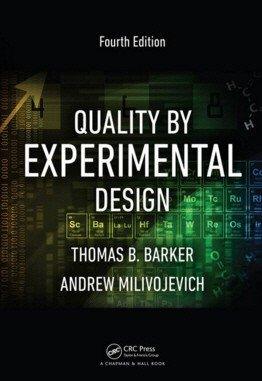 Quality by Experimental Design – 4th Edition