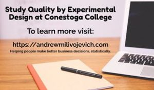 "<span class=""entry-title-primary"">Study Quality by Experimental Design at Conestoga College Today</span> <span class=""entry-subtitle"">The DOE Course Start April 28, 2016</span>"